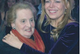 Dagmar Havlová with Madeleine Albright