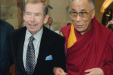 President Václav Havel and His Holiness the Dalai Lama